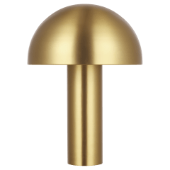 Cotra Table Lamp Burnished Brass Bulbs Inc