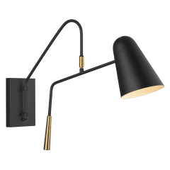 Simon Sconce Midnight Black