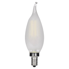 3.5W CA11 Frosted LED Dimmable  E12 2700K 350lm 120V Candelabra Base