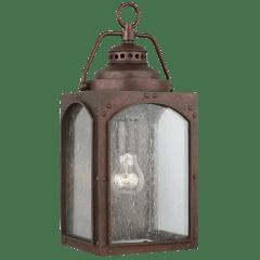 Randhurst Medium Lantern Copper Oxide