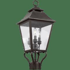 Galena Small Post Lantern Sable