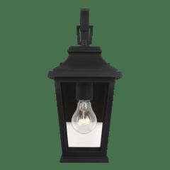 Warren Mini Lantern Textured Black