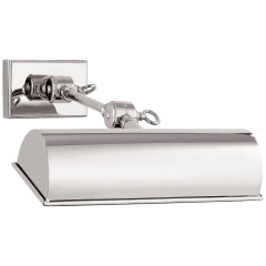 "Anette 9"" Picture Light in Polished Nickel"