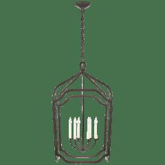 Ancaster Grande Blacksmith Lantern in Aged Iron