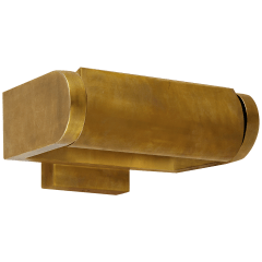"David 7"" Art Light in Hand-Rubbed Antique Brass"