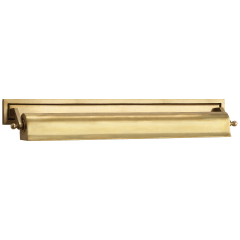 "Library 22"" Picture Light in Hand-Rubbed Antique Brass"