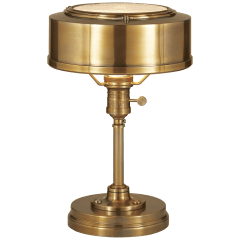 Henley Task Lamp in Hand-Rubbed Antique Brass