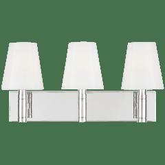 Beckham Classic 3 - Light Vanity Polished Nickel