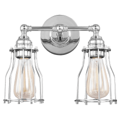 Calgary 2 - Light Vanity Chrome