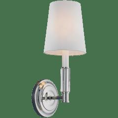 Lismore 1 - Light Sconce Polished Nickel