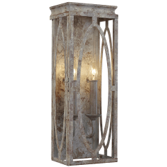 Patrice Double Sconce Deep Abyss