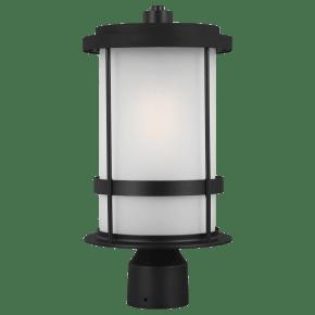Wilburn One Light Outdoor Post Lantern Black