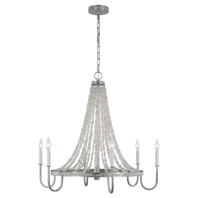 Leon Medium Chandelier Salt Mist