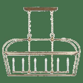 Stonington Linear Lantern Antique Gild