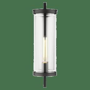 Eastham Medium Wall Lantern Textured Black
