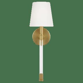 Hanover Sconce Burnished Brass