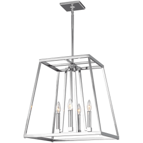 Conant Medium Lantern Chrome