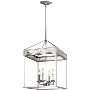 Woodruff Small Lantern Polished Nickel
