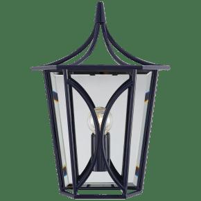 Cavanagh Mini Lantern Sconce in French Navy