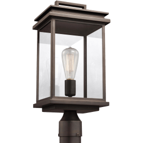 Glenview Post Lantern Antique Bronze