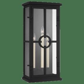 Belleville Large Lantern Textured Black