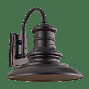 Redding Station Large Lantern Restoration Bronze