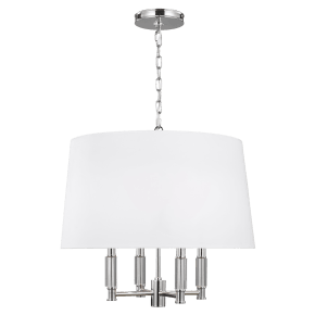 Lismore Hanging Shade Polished Nickel