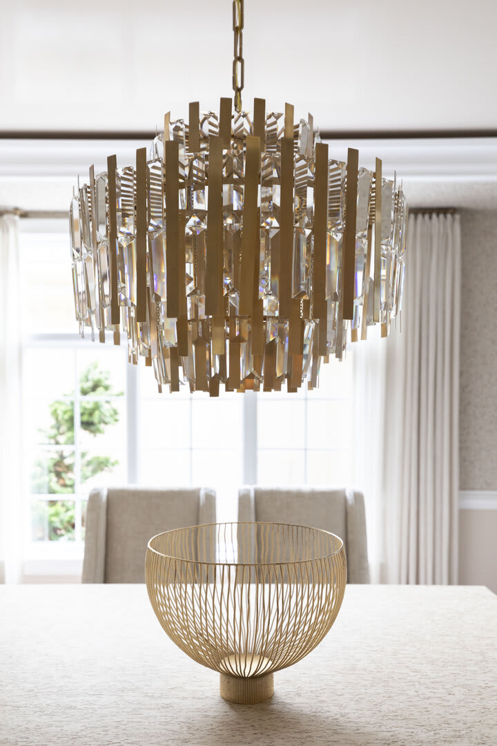 Ambrois Medium Chandelier by AERIN, Photography by Rachel McGinn