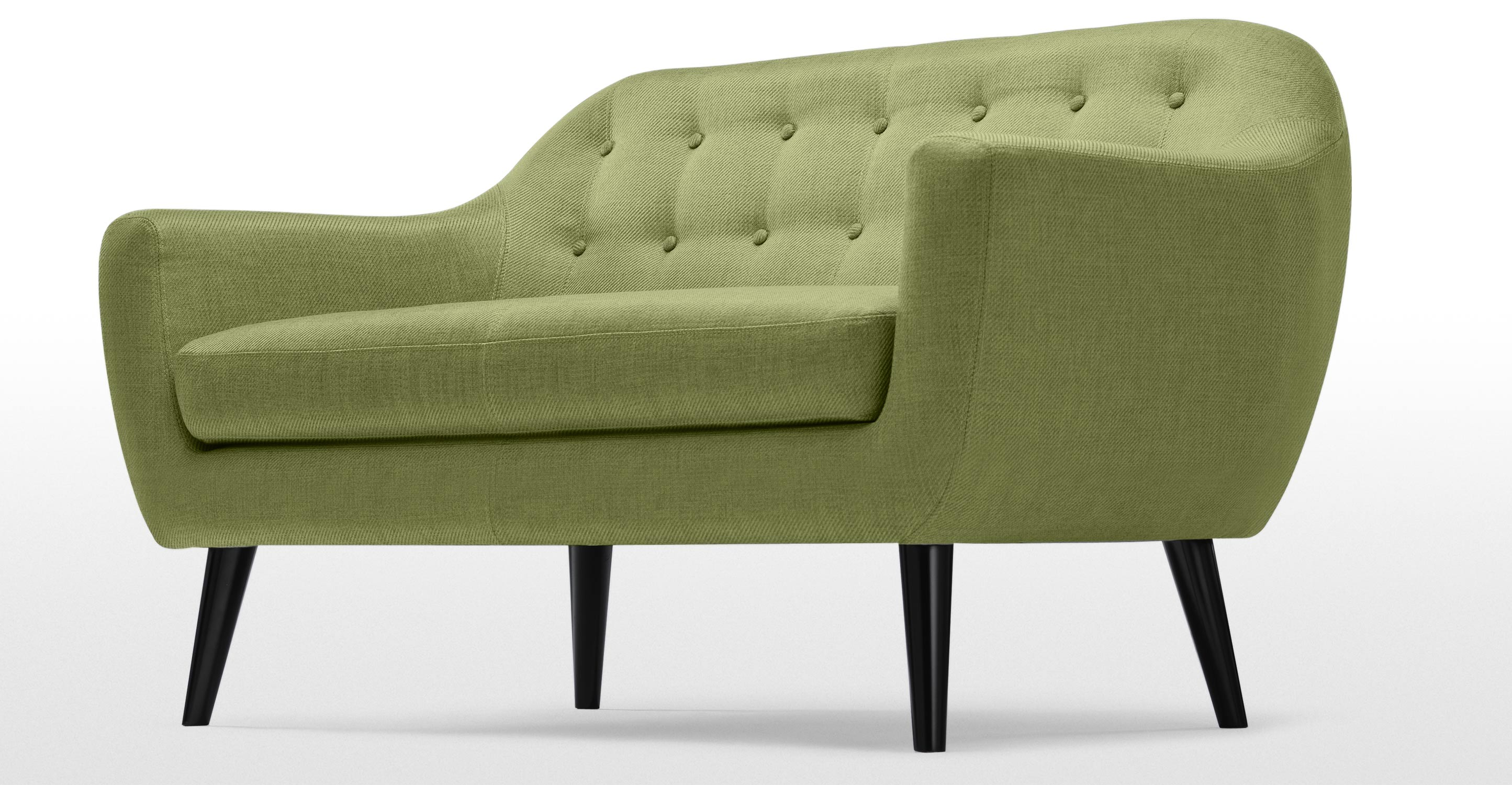 ritchie 2 seater sofa in lime green. Black Bedroom Furniture Sets. Home Design Ideas