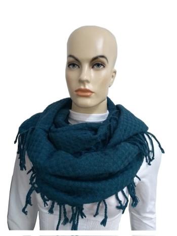 Gola com franja - Azul - Mala Cadabra