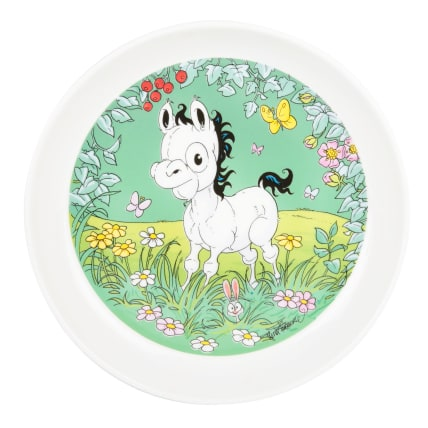 Lena Furberg Bandit the Pony On the Meadow Plate