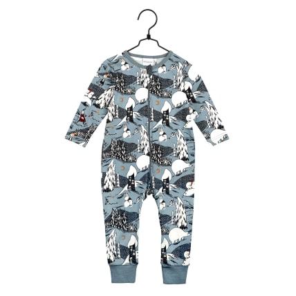 Moomin Polar Bear Pyjamas Baby blue