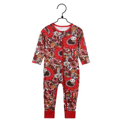 Moomin Dreaming Little My Pyjamas red