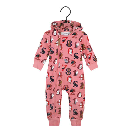 Moomin Numbers Overall Baby rose