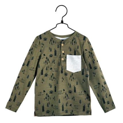 Moomin Pinewood Shirt olive