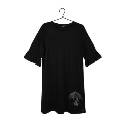Moomin Auri Dress Fiery black