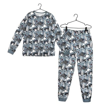 Moomin Polar Bear Pyjamas Men's blue