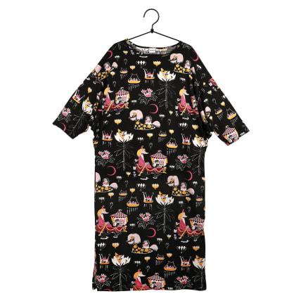 Moomin Friendship Kaftan 3/4 sleeve black