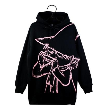 Moomin Ella Hoodie Sketch1 black