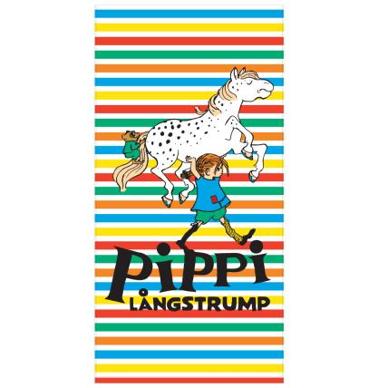 Pippi Longstocking Stripes Bath Towel