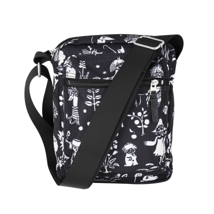 Moomin Tuutikki Shoulder Bag Tove black