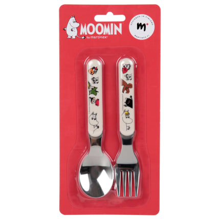 Moomin Friends Baby Spoon and Fork Set