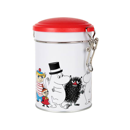 Moomin Characters Round Tea Tin