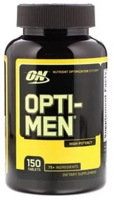 Opti-men - 150 Tabs - Optimun Nutrition