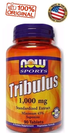 Tribulus Terrestris - 1000mg - Now Sports - 90 cápsulas