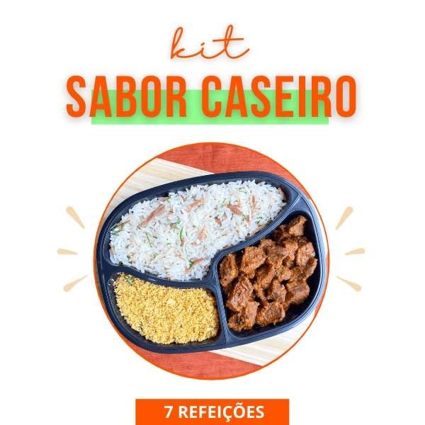 Kit Sabor Caseiro - 7 Dias - Vipx Gourmet