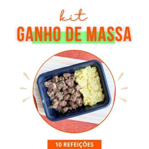 Kit Ganho de Massa - Vipx Gourmet