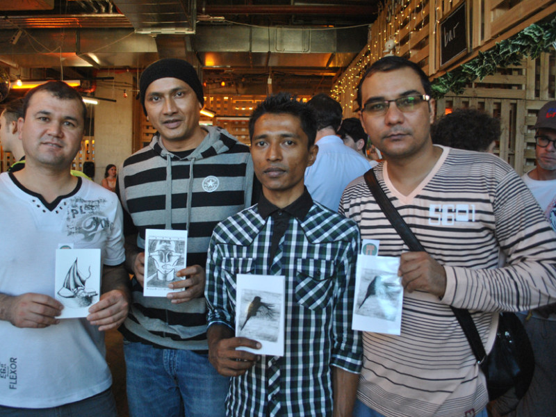 Zines from the Refugee Art Project