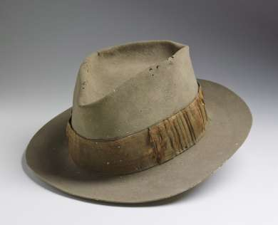 Felt Akubra hat worn by Ben Chifley