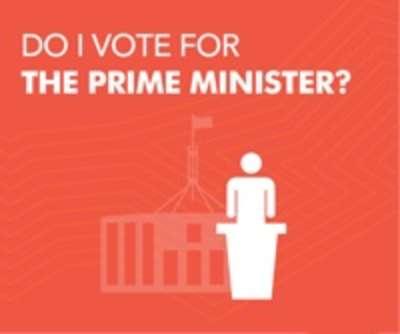 Do I vote for the prime minister?
